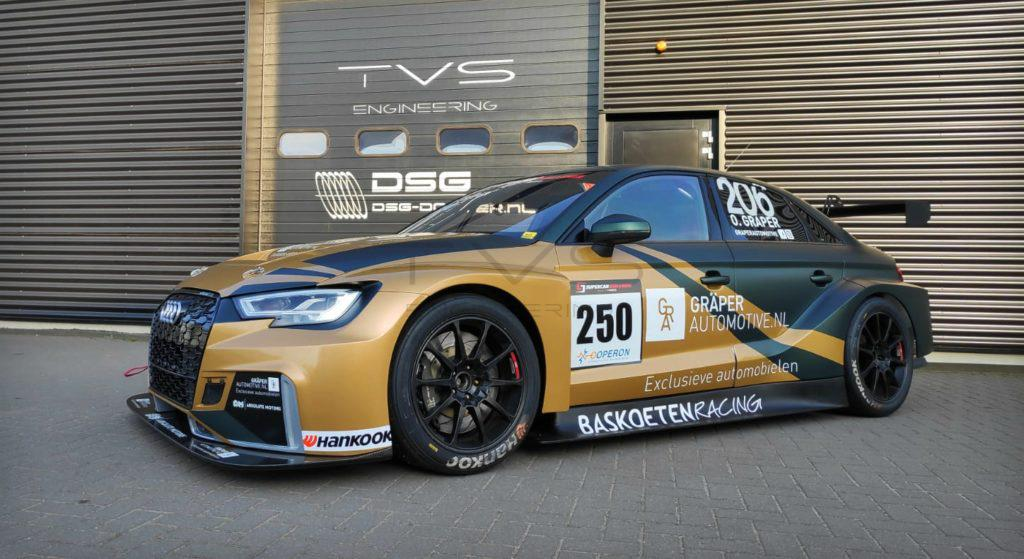 Audi Sport RS3 LMS TCR (2017) - TVS Engineering